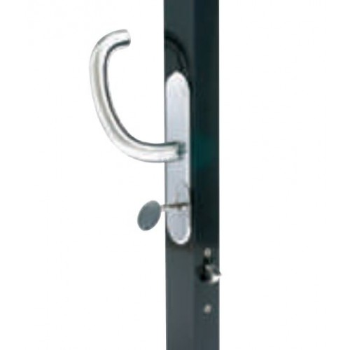 Star Slider Entry Door Latch (Flush Inside Style)
