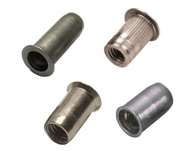 aluminium threaded inserts